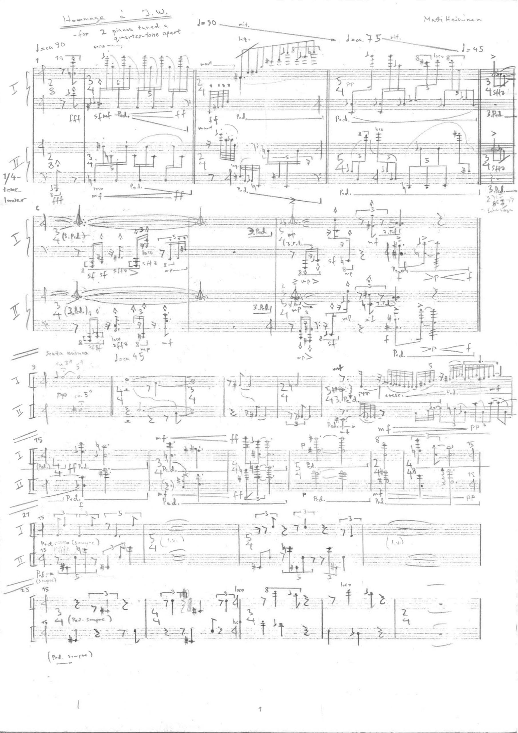 matti heininen composition hommage a i.w.